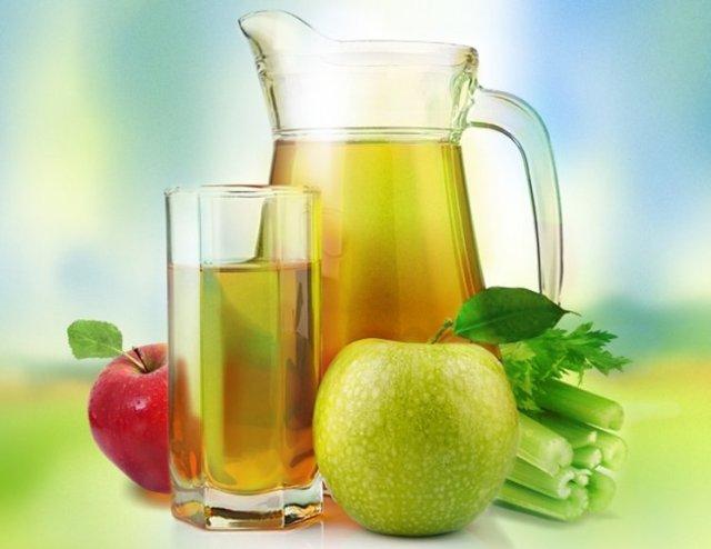 Яблочно-сельдереевый сок