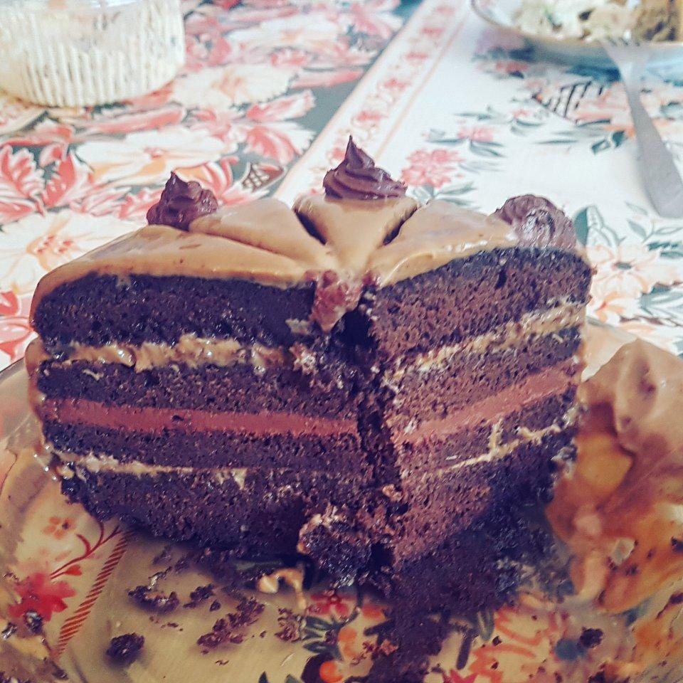 Торт Шоколадный кофе