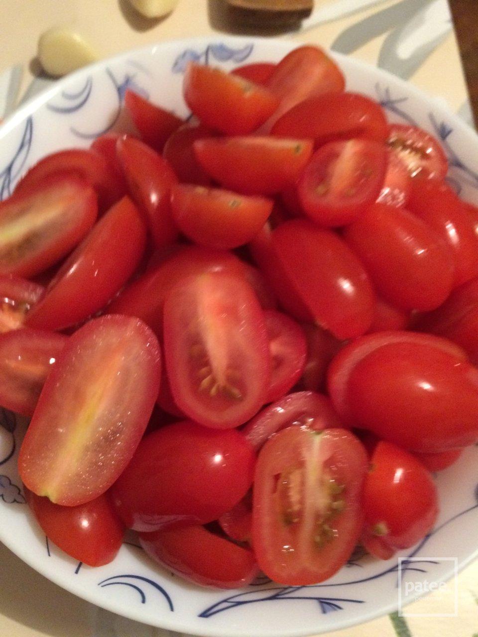 Курица в томатах с бальзамическим уксусом