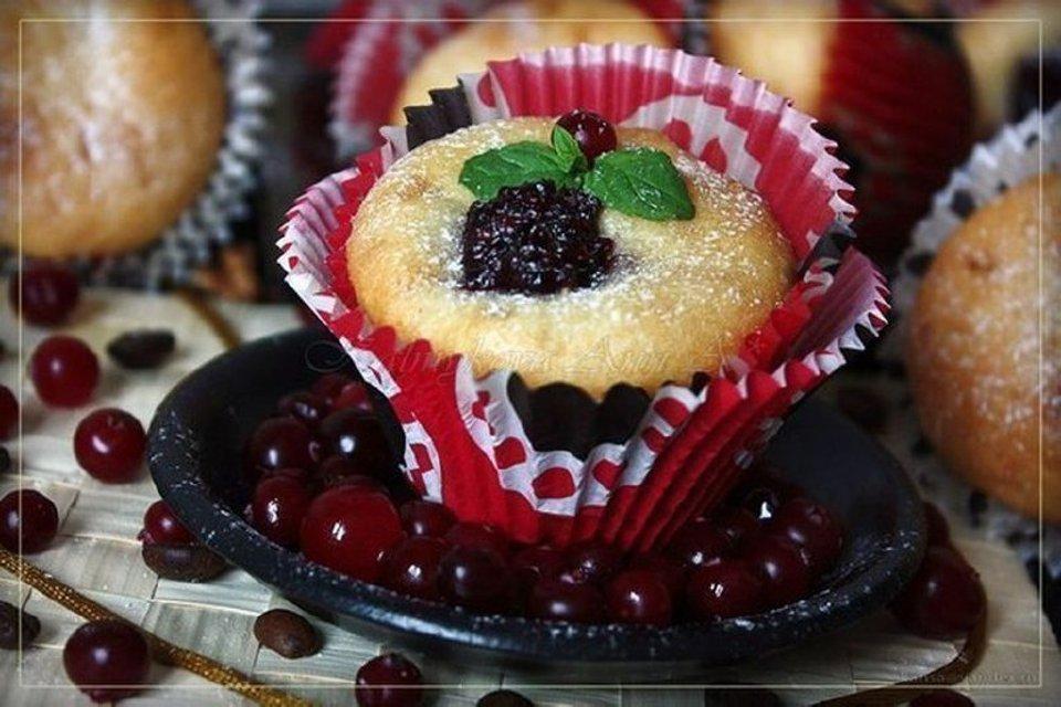 Мягкие, вкусные кексы