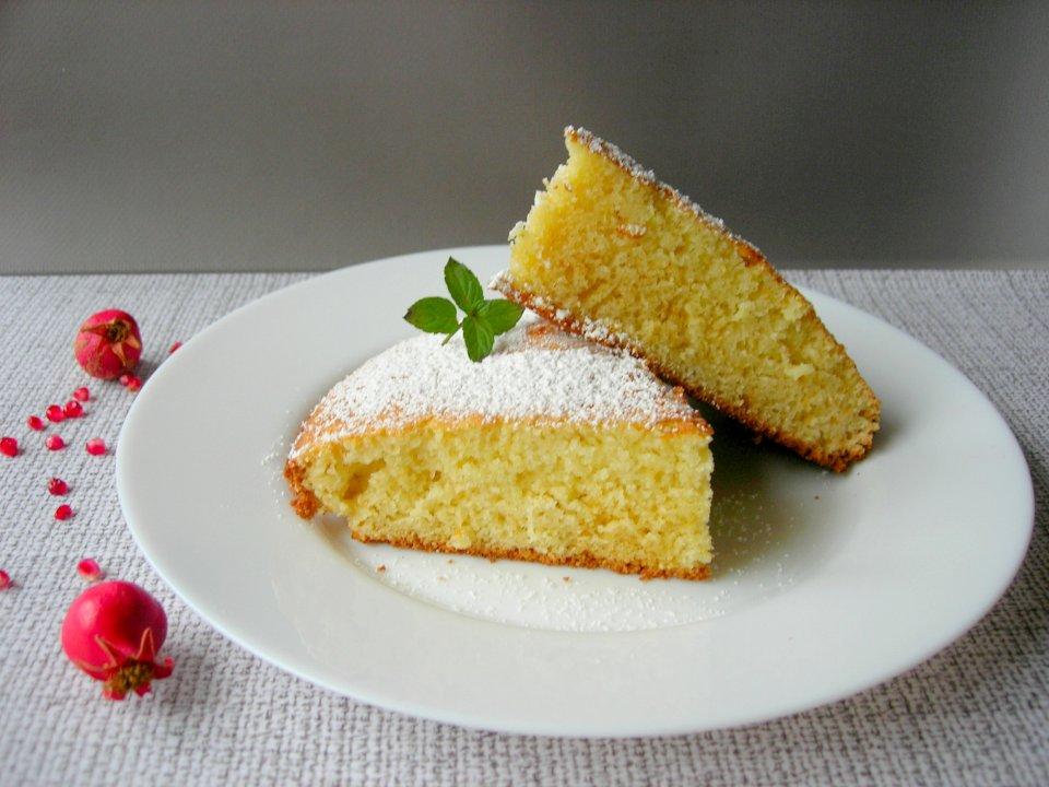 Старый добрый бабушкин рецепт пирога-стаканника (Манник)