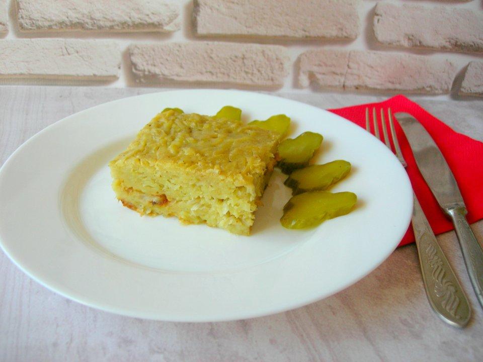 Бобеле. Картофельный пирог или картофельная запеканка без мяса!