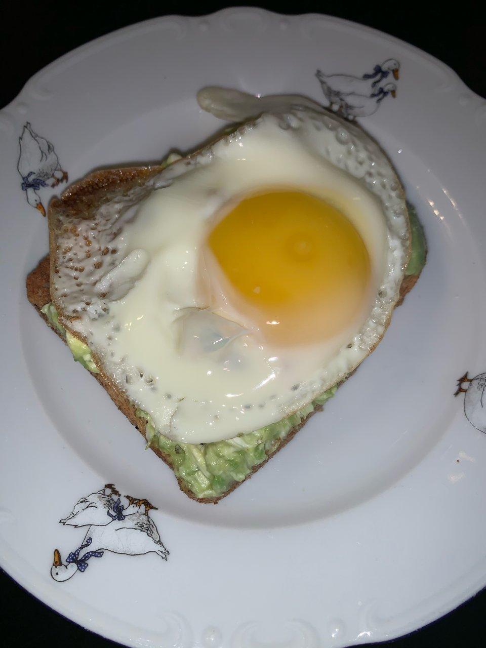 Бутерброд на завтрак ПП