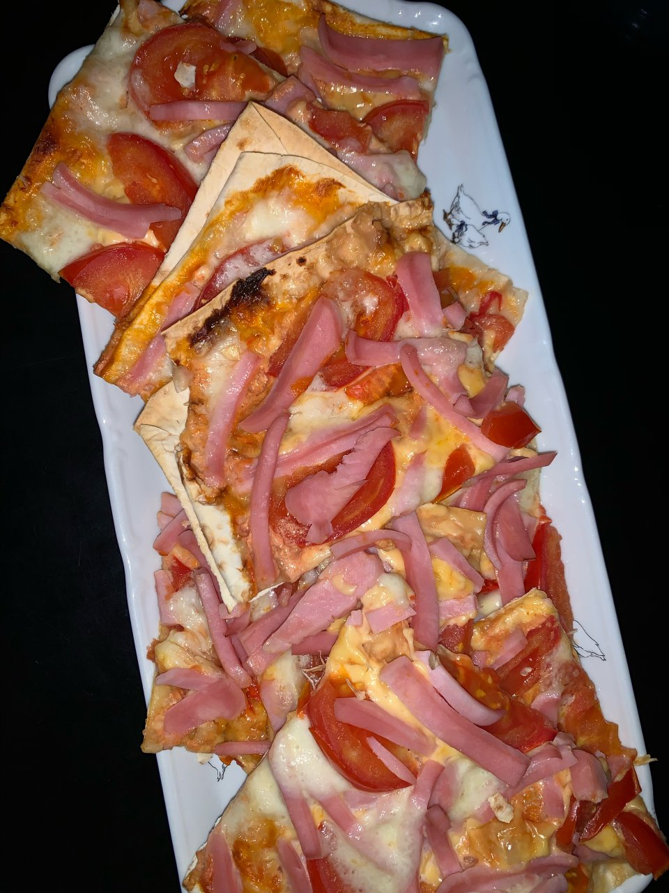 Пицца на лаваше пп