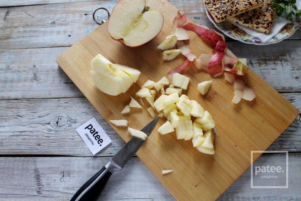 Трайфл творожно-яблочный