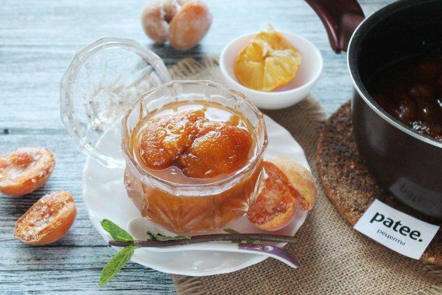Варенье из замороженных абрикосов с корицей