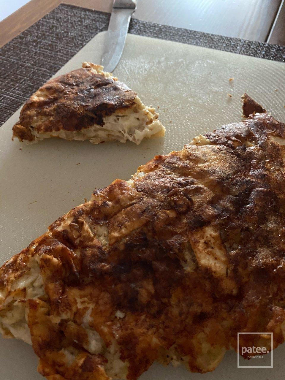 Пирог из остатков лаваша