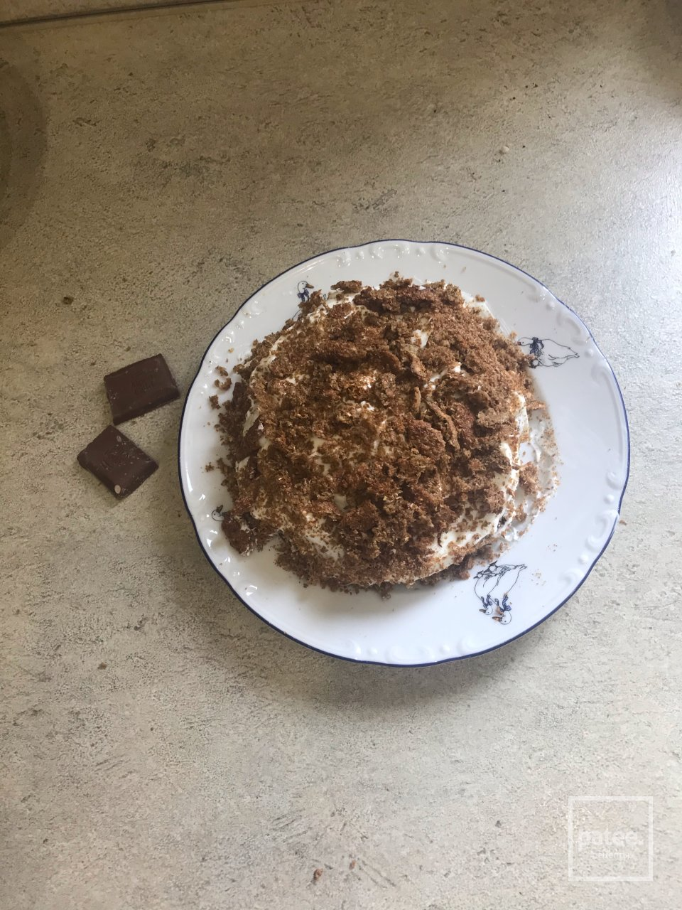 Пп торт шоколадная крошка