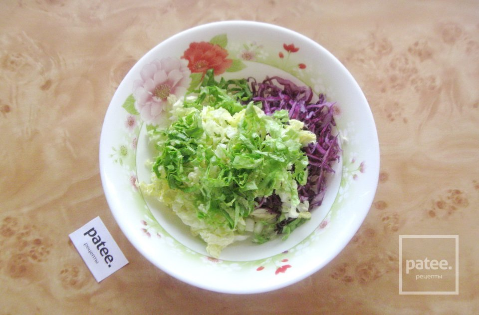 "Салат  ""Три капусты"""