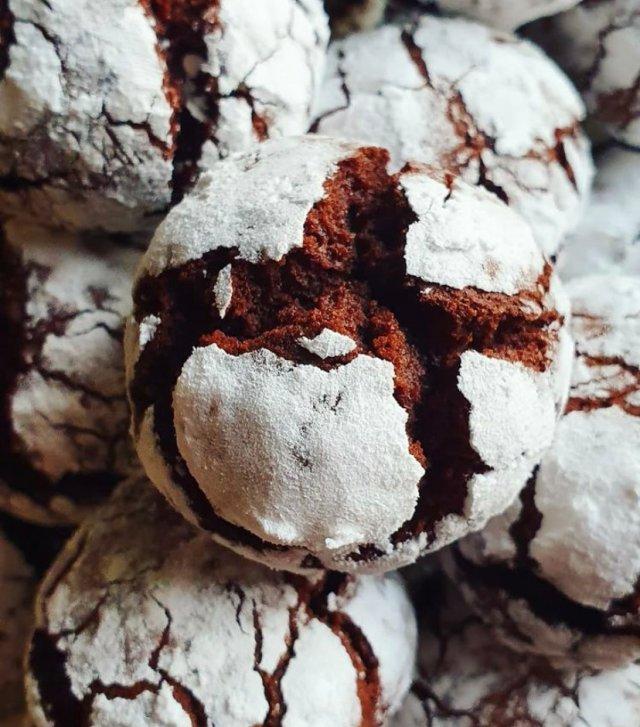 Треснувшее/треснутое или мраморное печенье