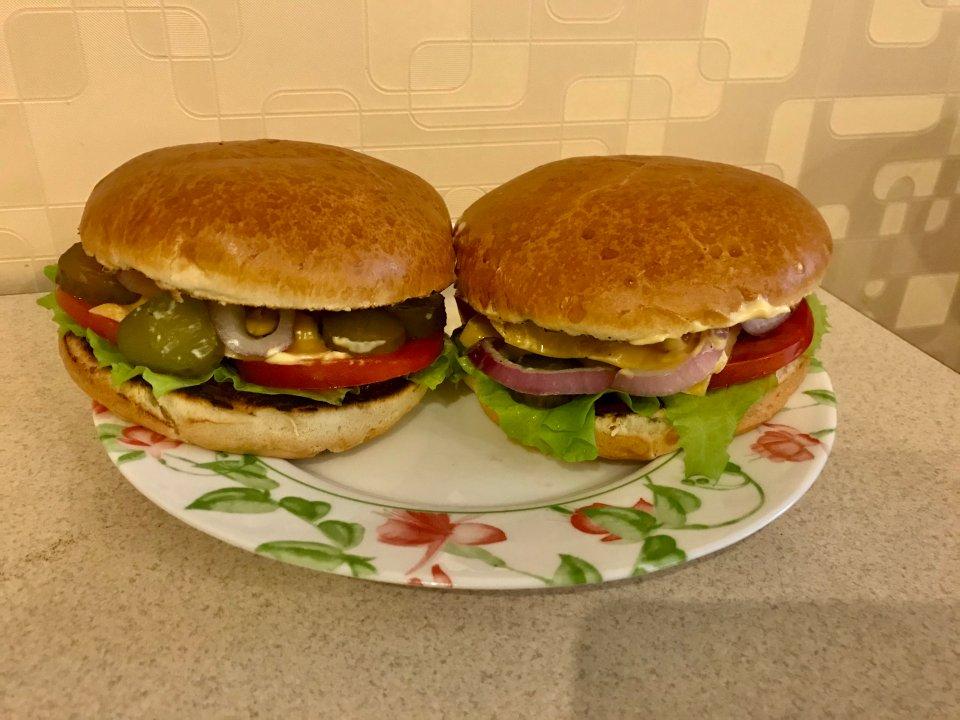 Домашние чизбургеры 🍔