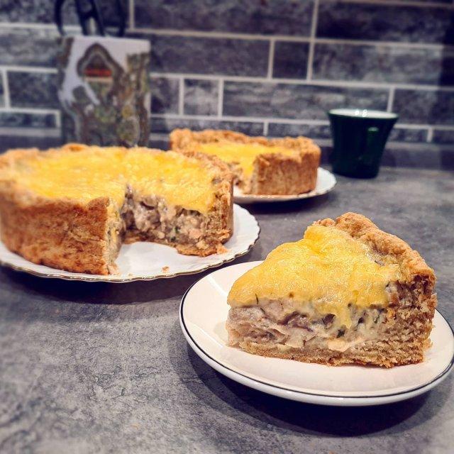 Пирог с жульеном