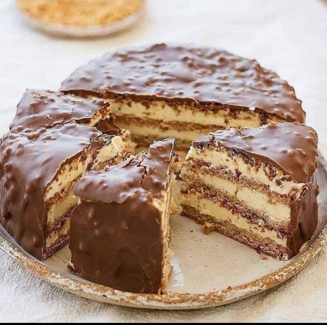 """Торт """" Мечта жизни """" 🍰"""