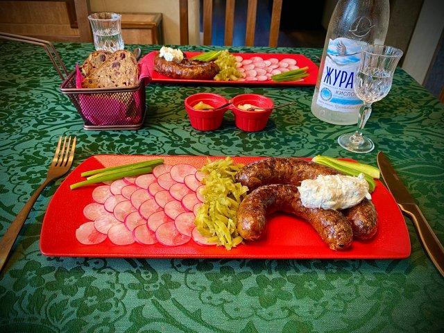 Ройка — белорусская картофельная колбаска